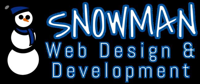 Snowman Web Design & Development Logo