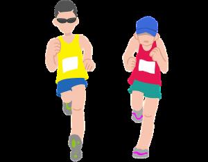 runners in marathon